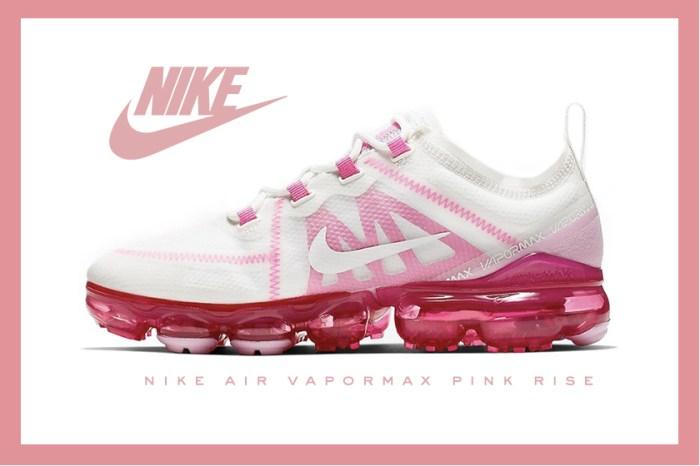 屬於夏日的色系,Nike 超人氣鞋款 Air VaporMax 推出全新「Pink Rise」配色!