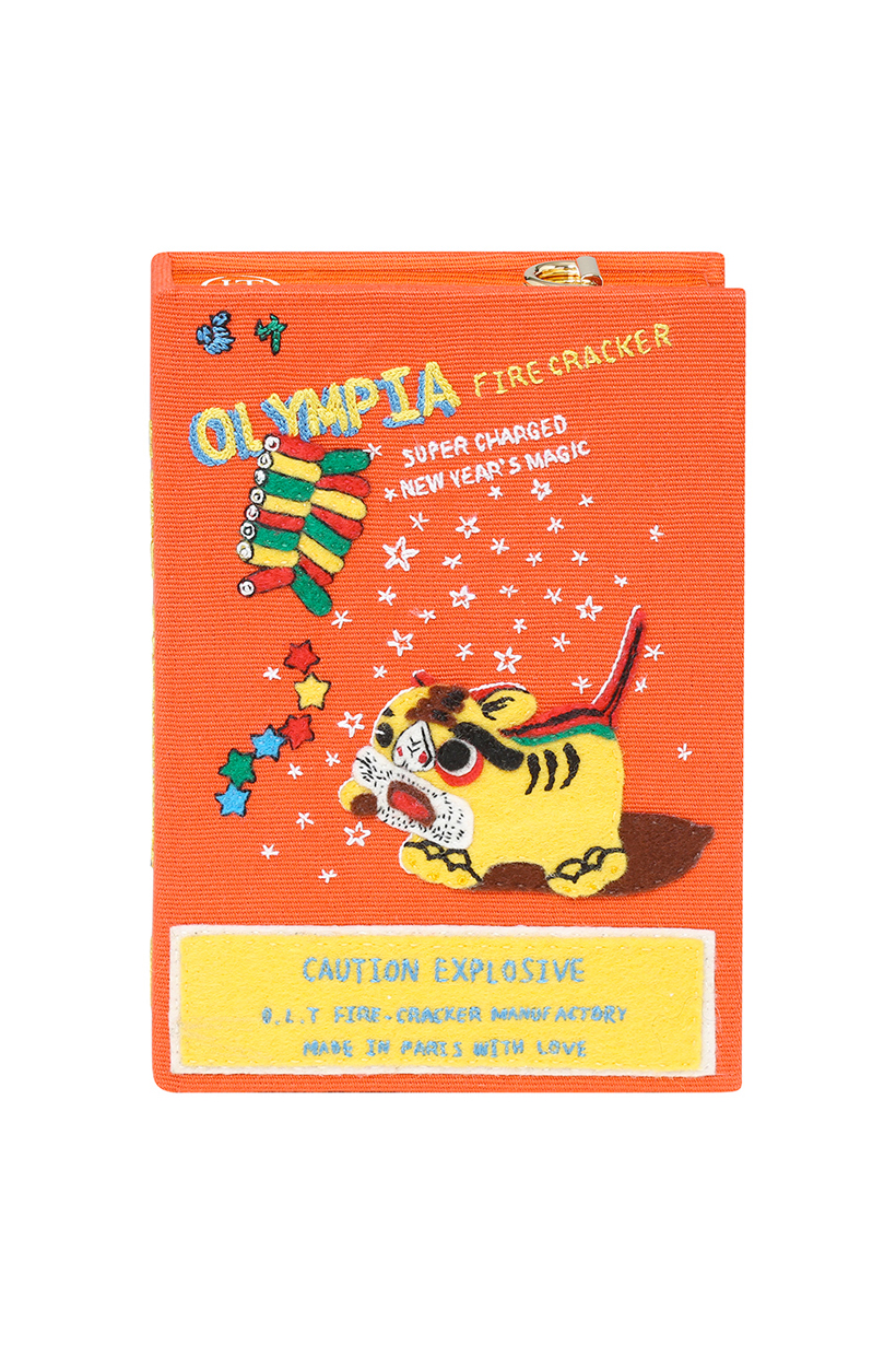 olympia le tan book clutch wendy yu limited collabration chinese new year