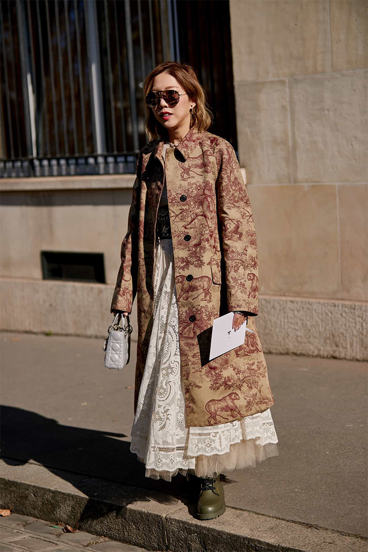 Chloé C Bag Paris Fashion Week 2019 Street Style