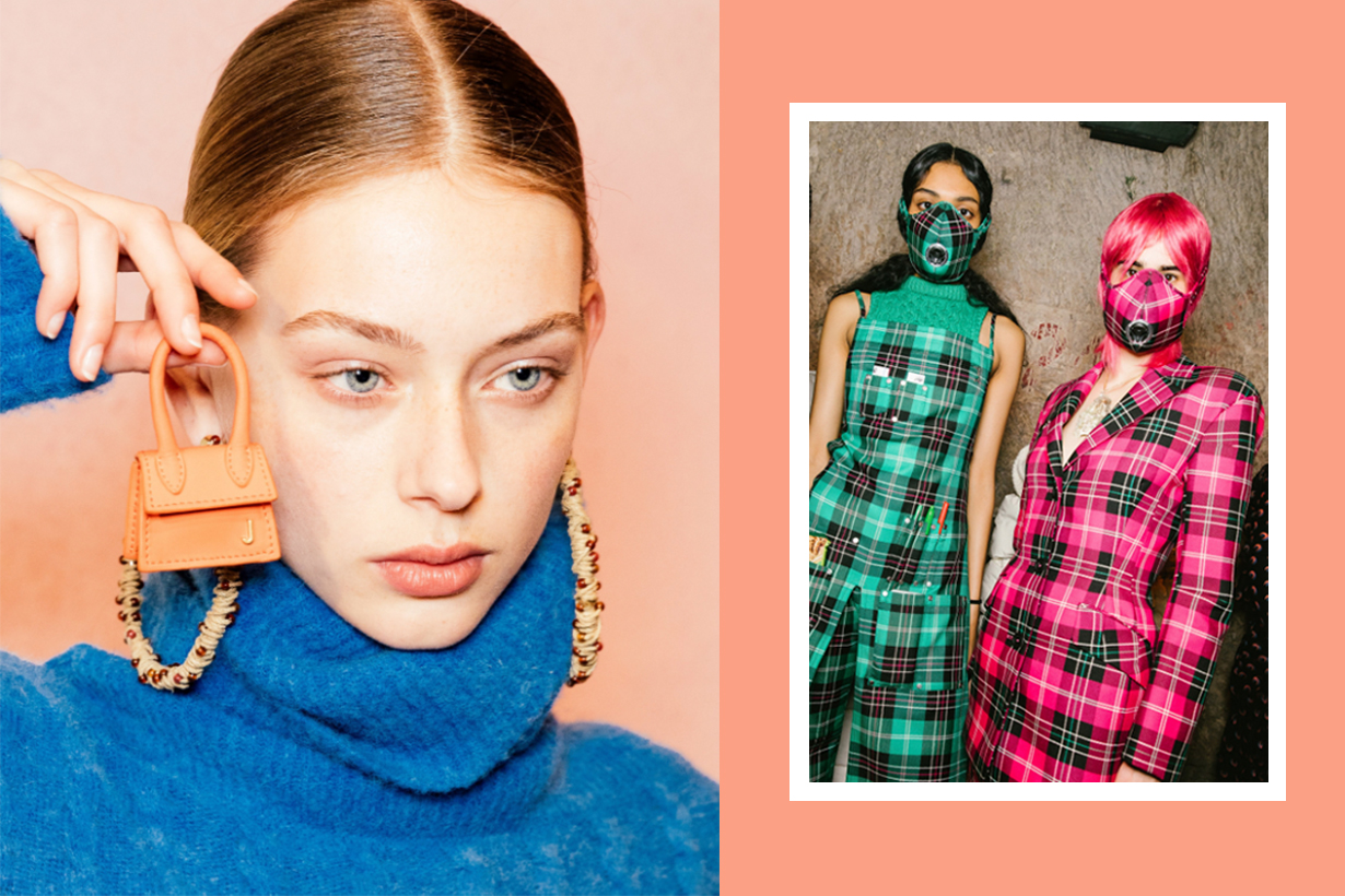 Behind the scenes photos from paris fashion week 2019
