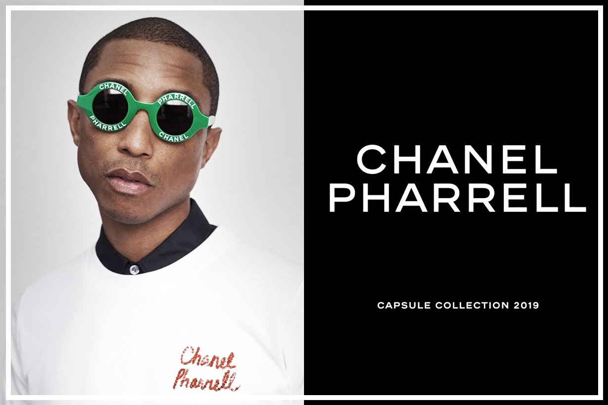 Pharrell shares a closer look at upcoming Chanel collaboration