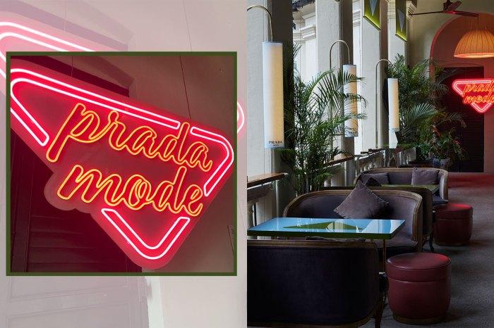 Prada 「快閃」俱樂部,美食相伴品嚐藝術美