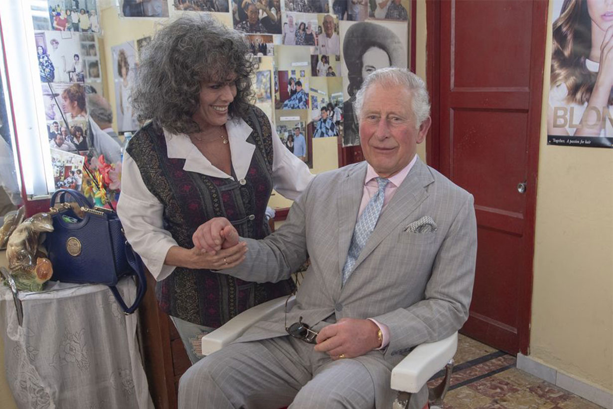Prince Charles refuses to have his hair cut in Cuba