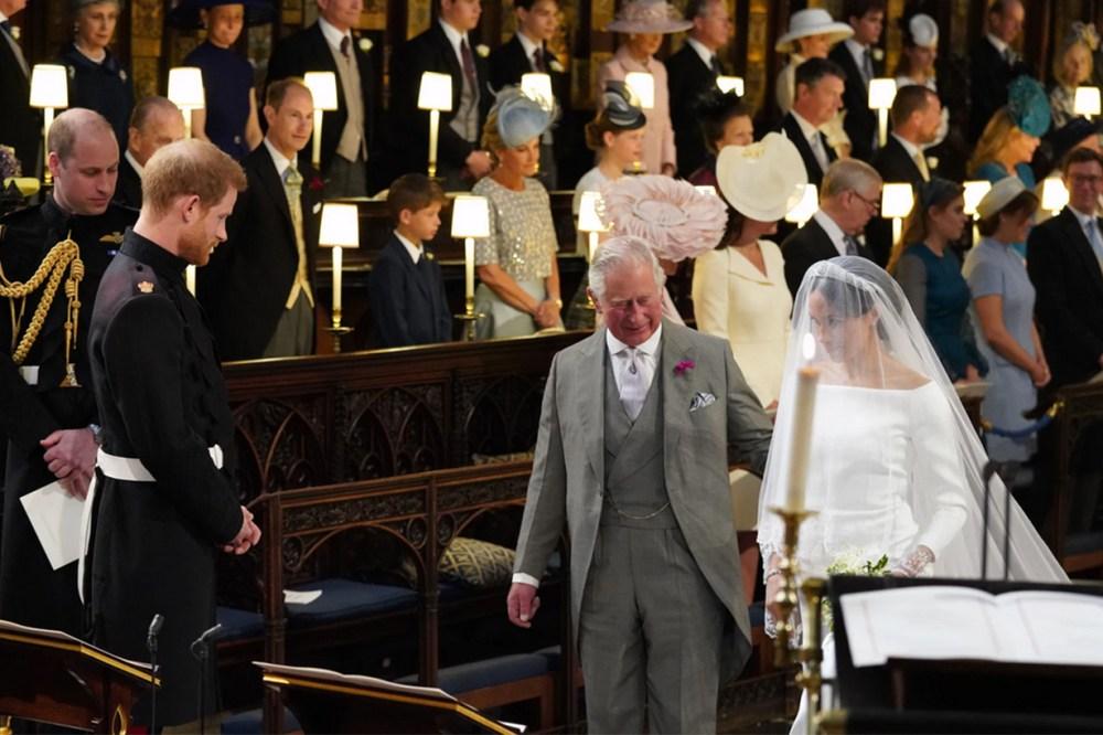 Prince Charles Meghan Markle Prince Harry Wedding