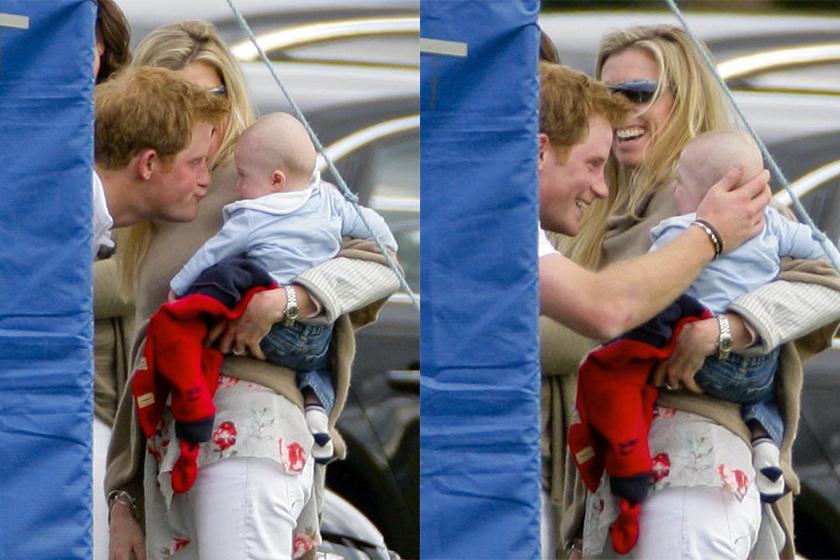 prince-harry-meeting-baby  Meghan Markle royal baby