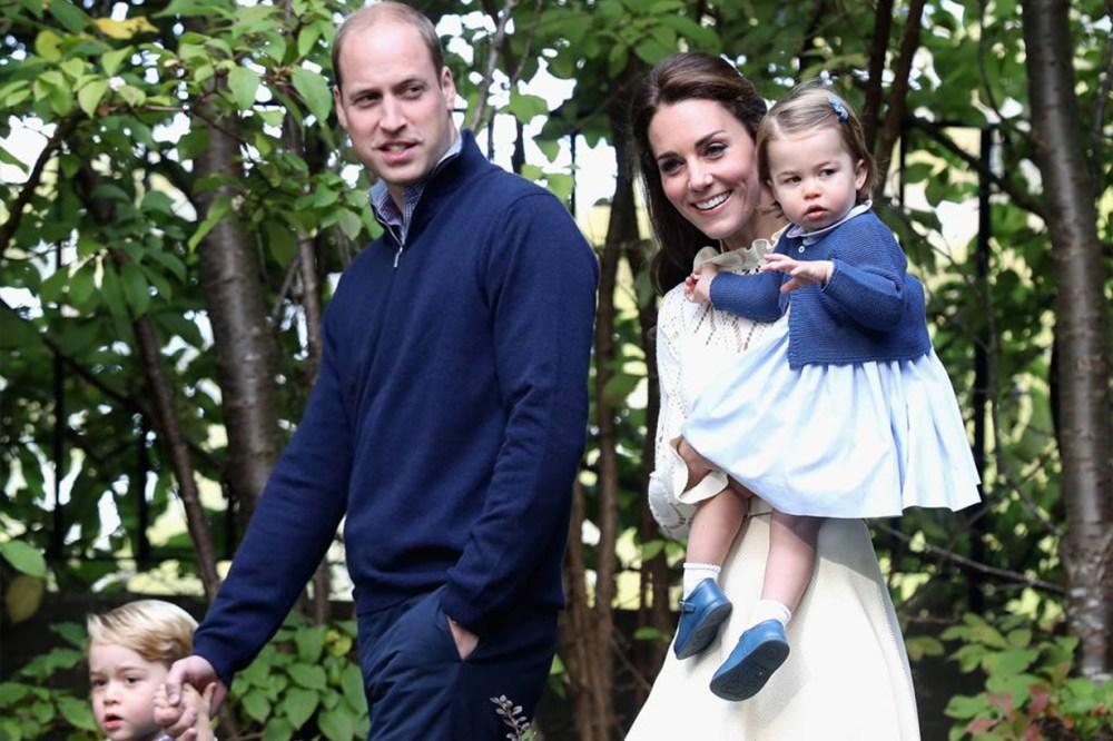 Prince William Princess Charlotte Kate Middleton Prince George British Royal Family