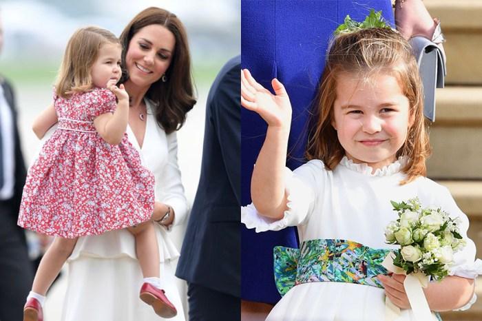 凱特與民眾聊天時,不慎爆了夏洛特小公主的可愛花名!