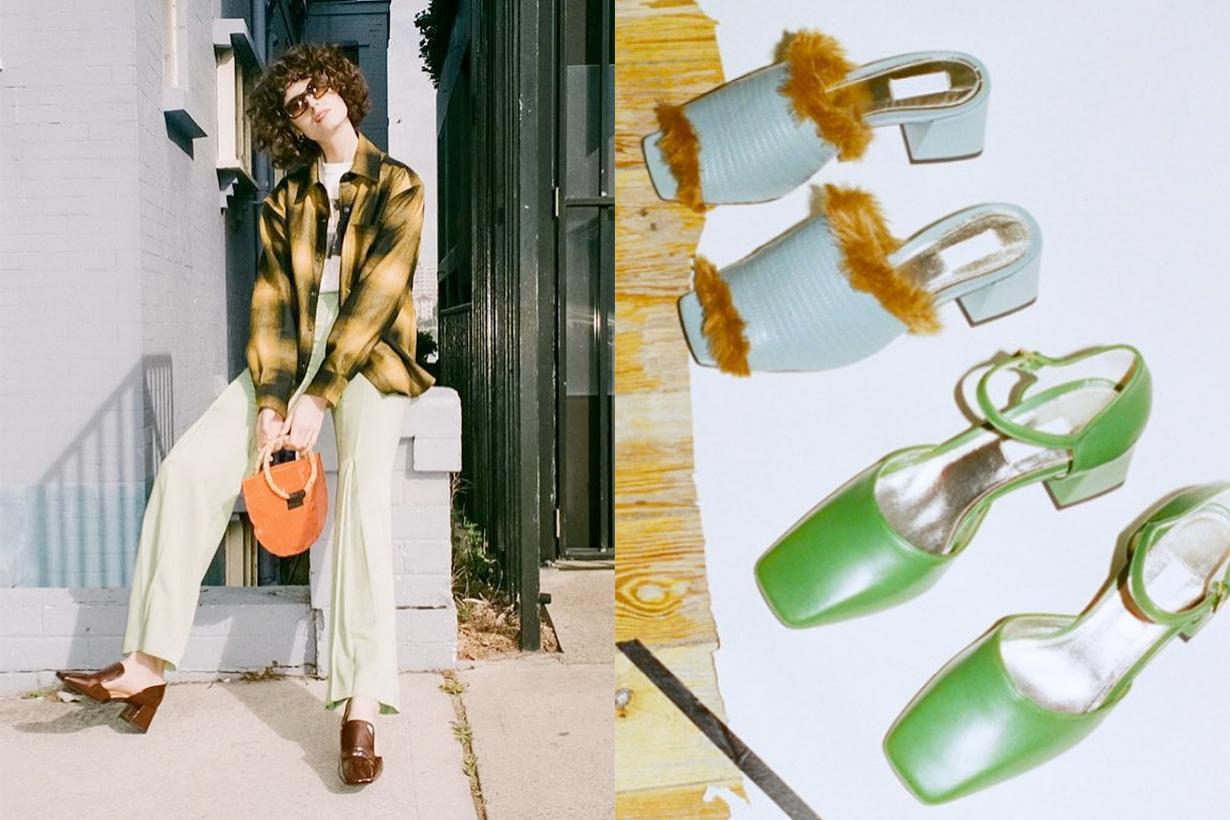 suzanne rae brooklyn shoe brand sandal feminine modern
