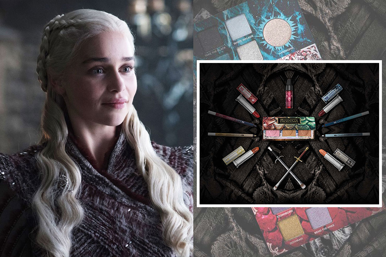 Urban Decay's Official 'Game of Thrones' Makeup Collection Is the Definition of Fire