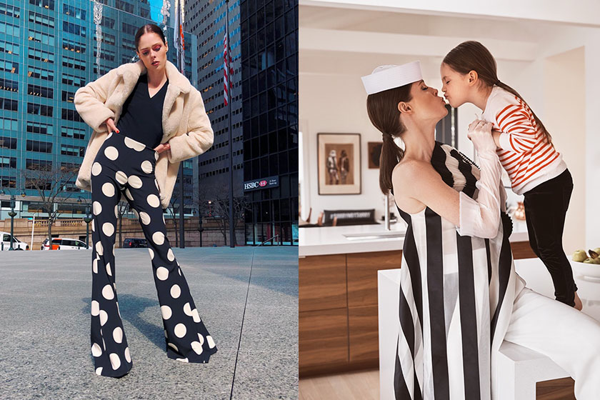 Coco Rocha and daughter Ioni vogue cover