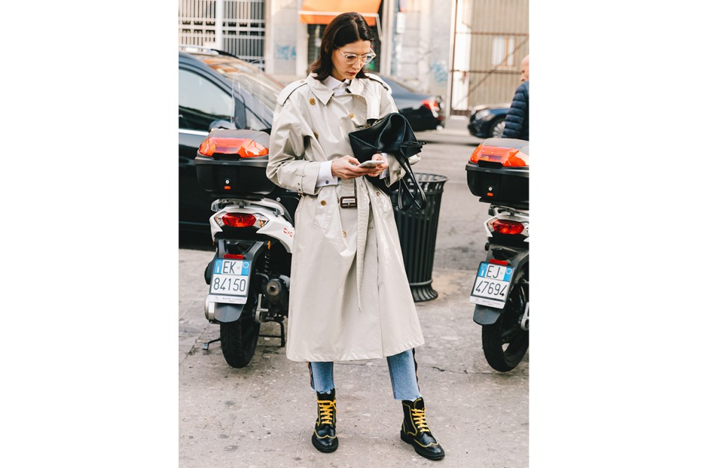Trench Coat Street Style 2019