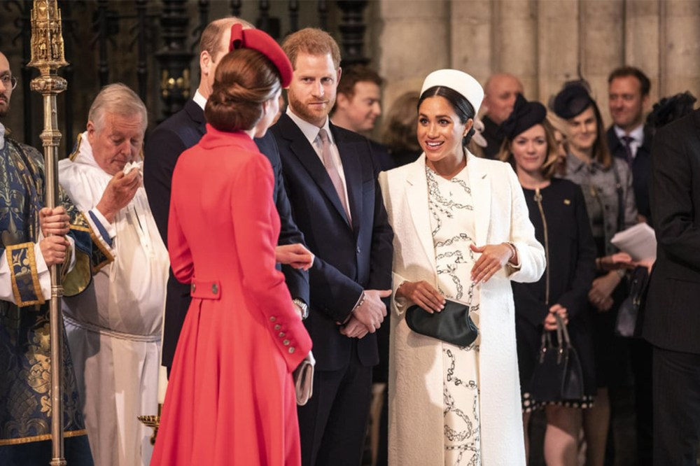 Meghan Markle Kate Middleton Body Language Royal Commonwealth Day Service