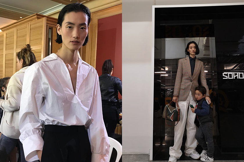 lina zhang is a china fashion model and mother of two children