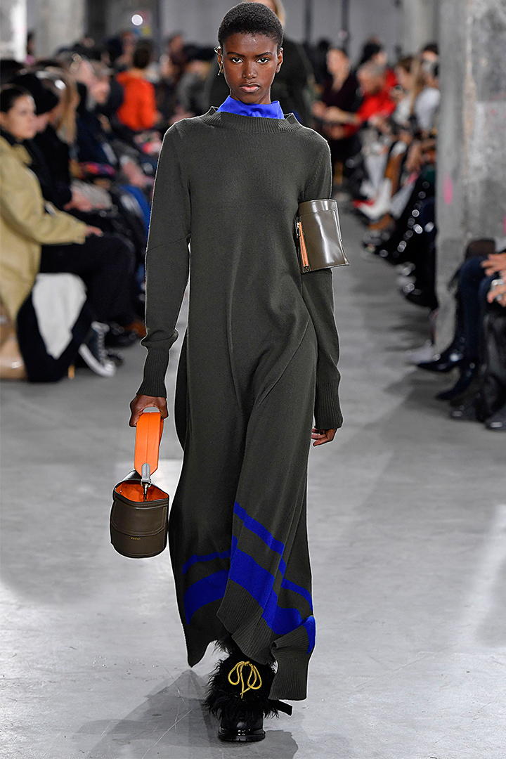 sacai FW2019 runway shoes bags
