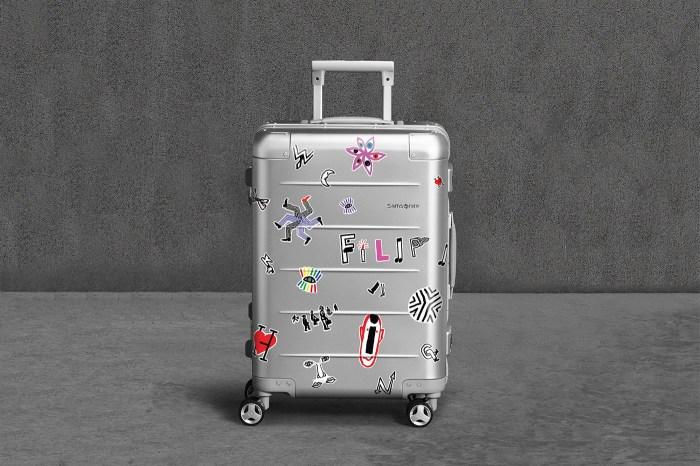 Samsonite 推出最可愛的 Xylem 2.0 行李箱:Comme des Garçons PLAY 藝術家設計的貼紙太萌了!
