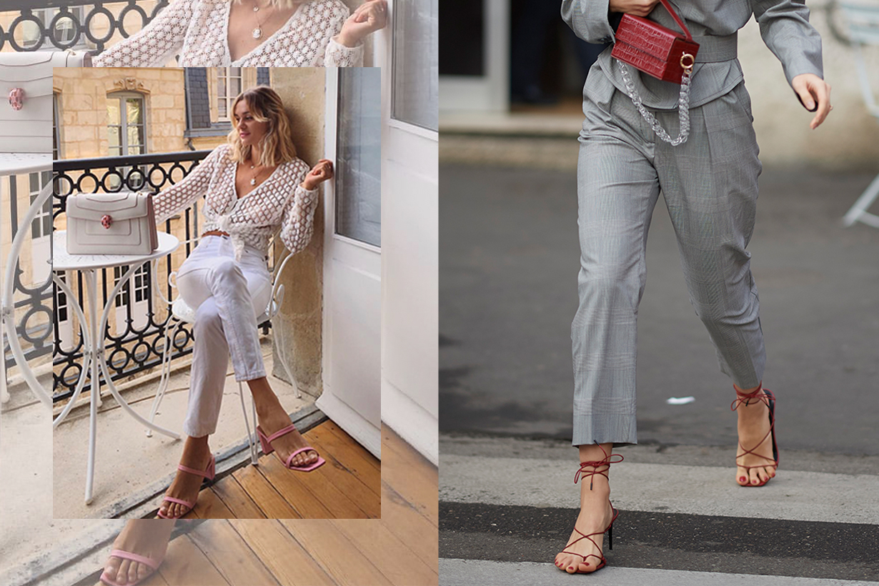 Strappy sandals is officially the only shoe trend that matters this year