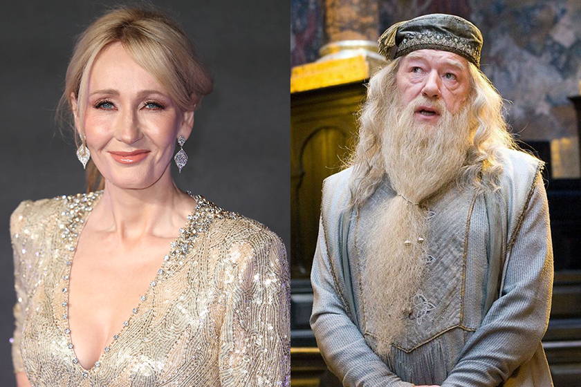 jk rowling says about dumbledore and grindelwald sex