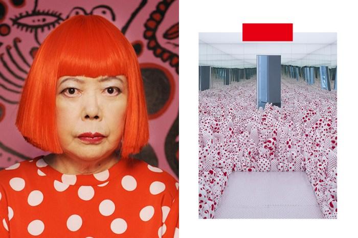 「不是藝術,早就自殺了」:在巴黎展覽中,90 歲的草間彌生將自己比喻為一顆迷失的豌豆!