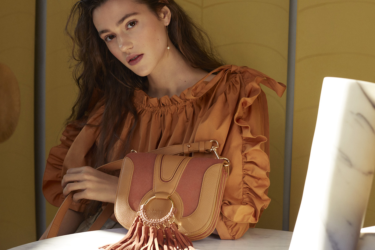 See By Chloé is launching an exculsive handbag with Yoox