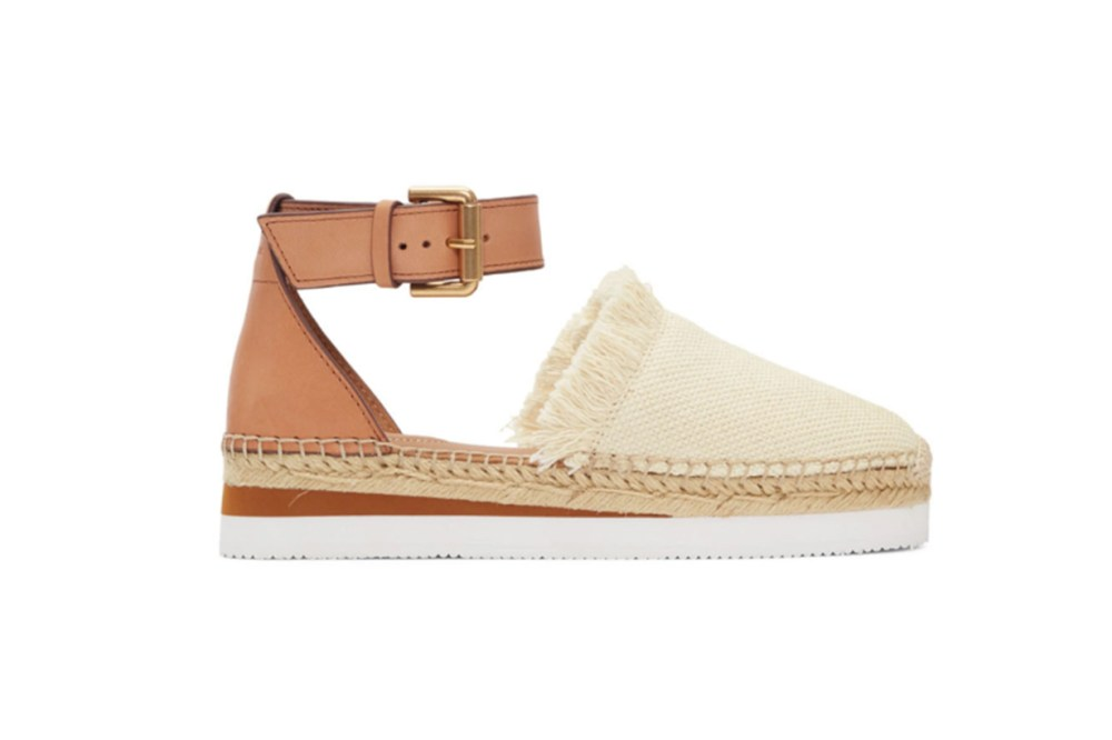 See by Chloé Off-White Glyn Espadrilles