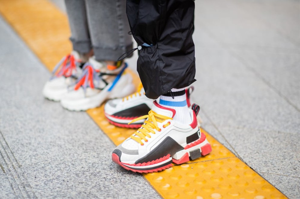 Lego Dad Sneakers Street Style