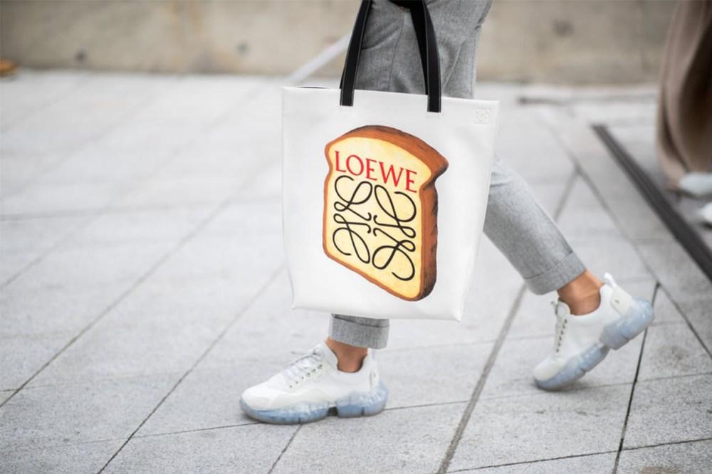 Loewe Pop Art Tote Bag Street Style