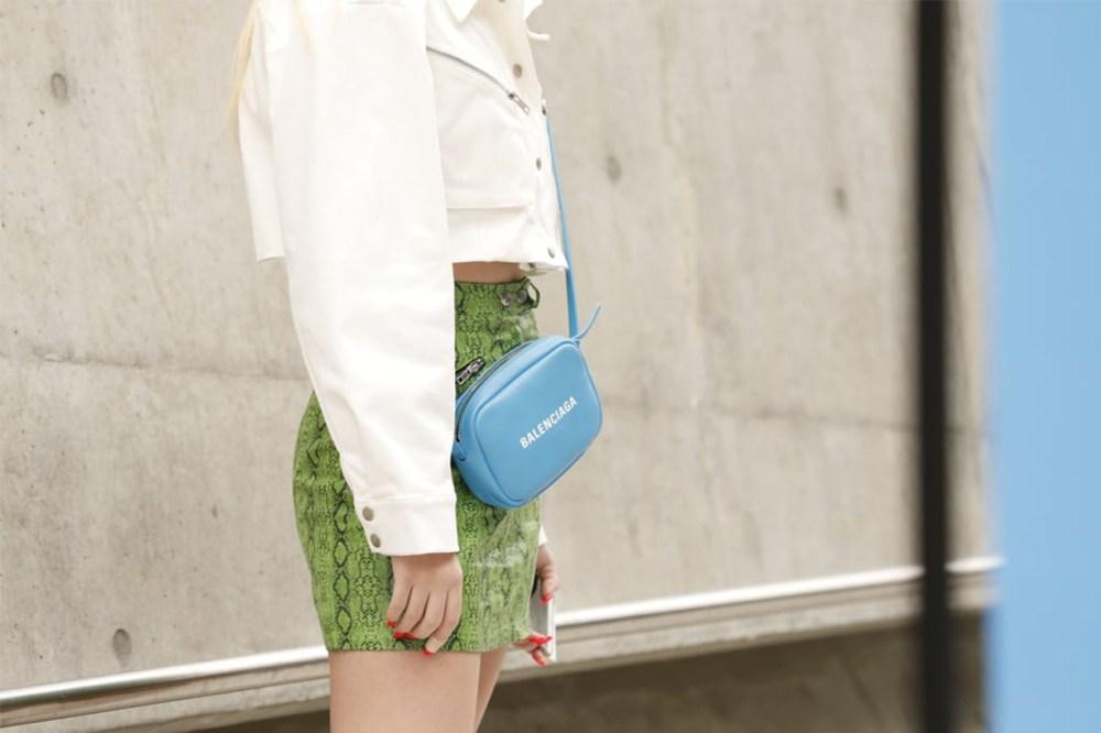 Compact Case Balenciaga Bag Street Style
