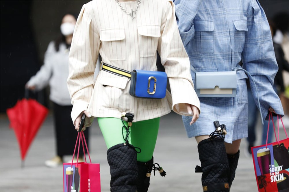 Compact Cases Belt Bag Street Style