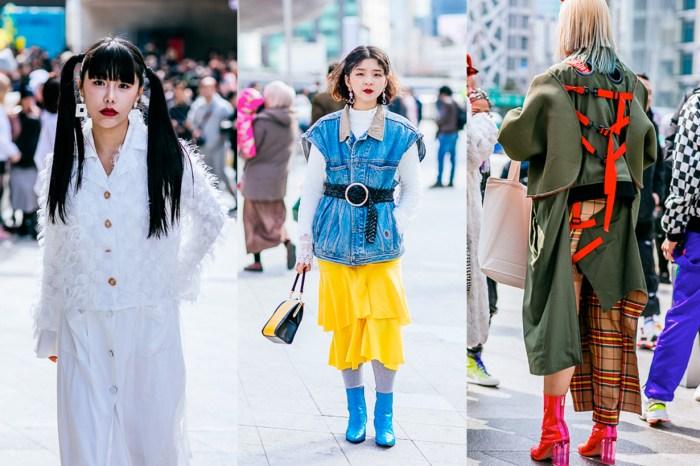 街拍潮人的一級戰區,今年首爾時裝週的街拍到底有多精彩?