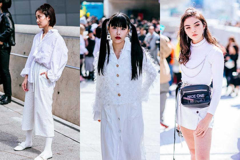 seoul fashion week street snap 2019 korea