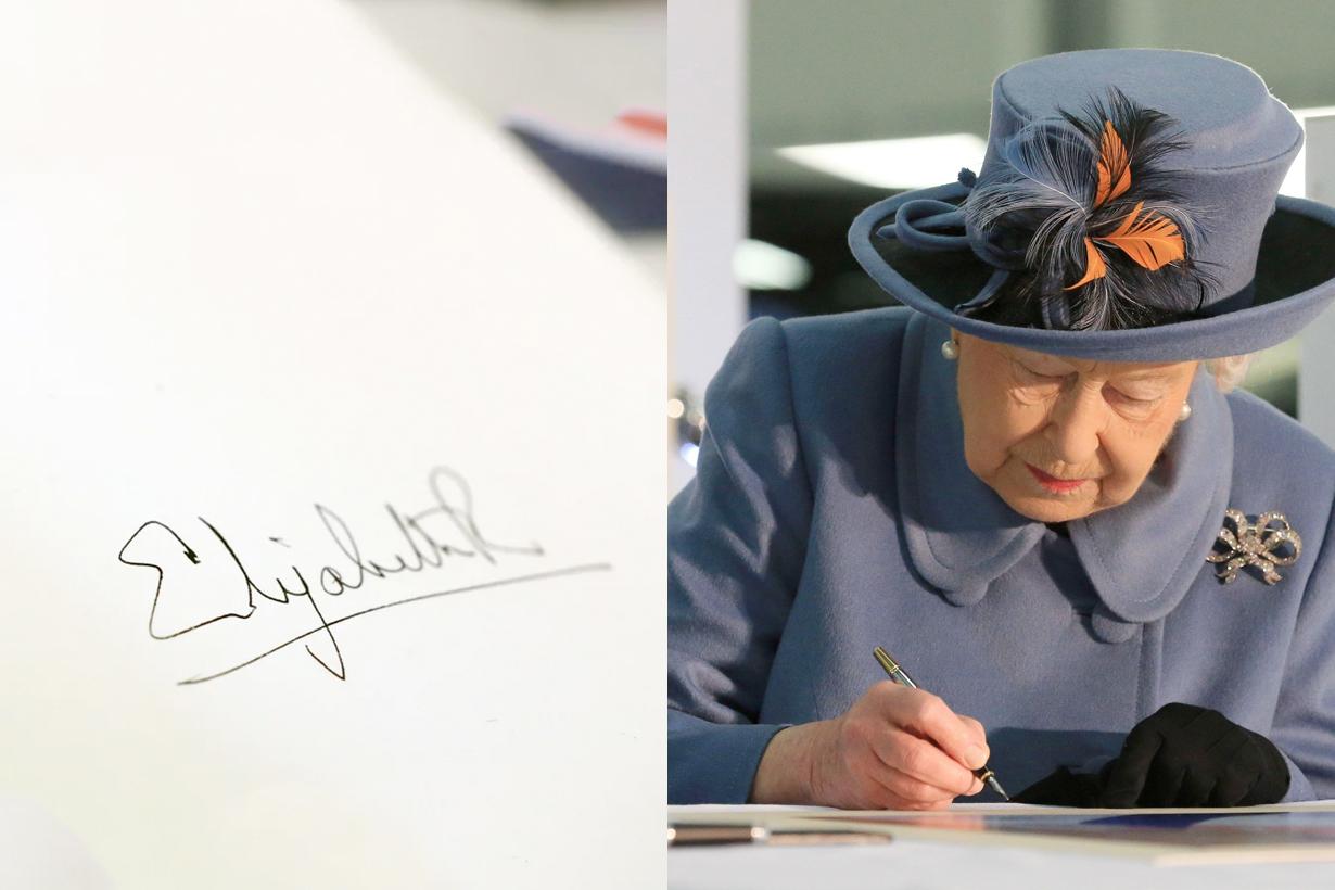 Queen Elizabeth II british royal Signature lilibet