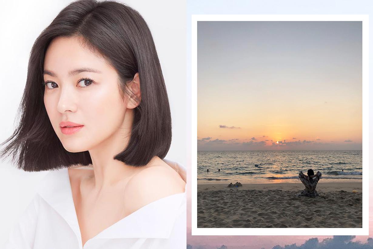 Song Hye Kyo Song Joong Ki Marriage crack rumors stylist going on trip travel k pop korean idols celebrities actors actresses