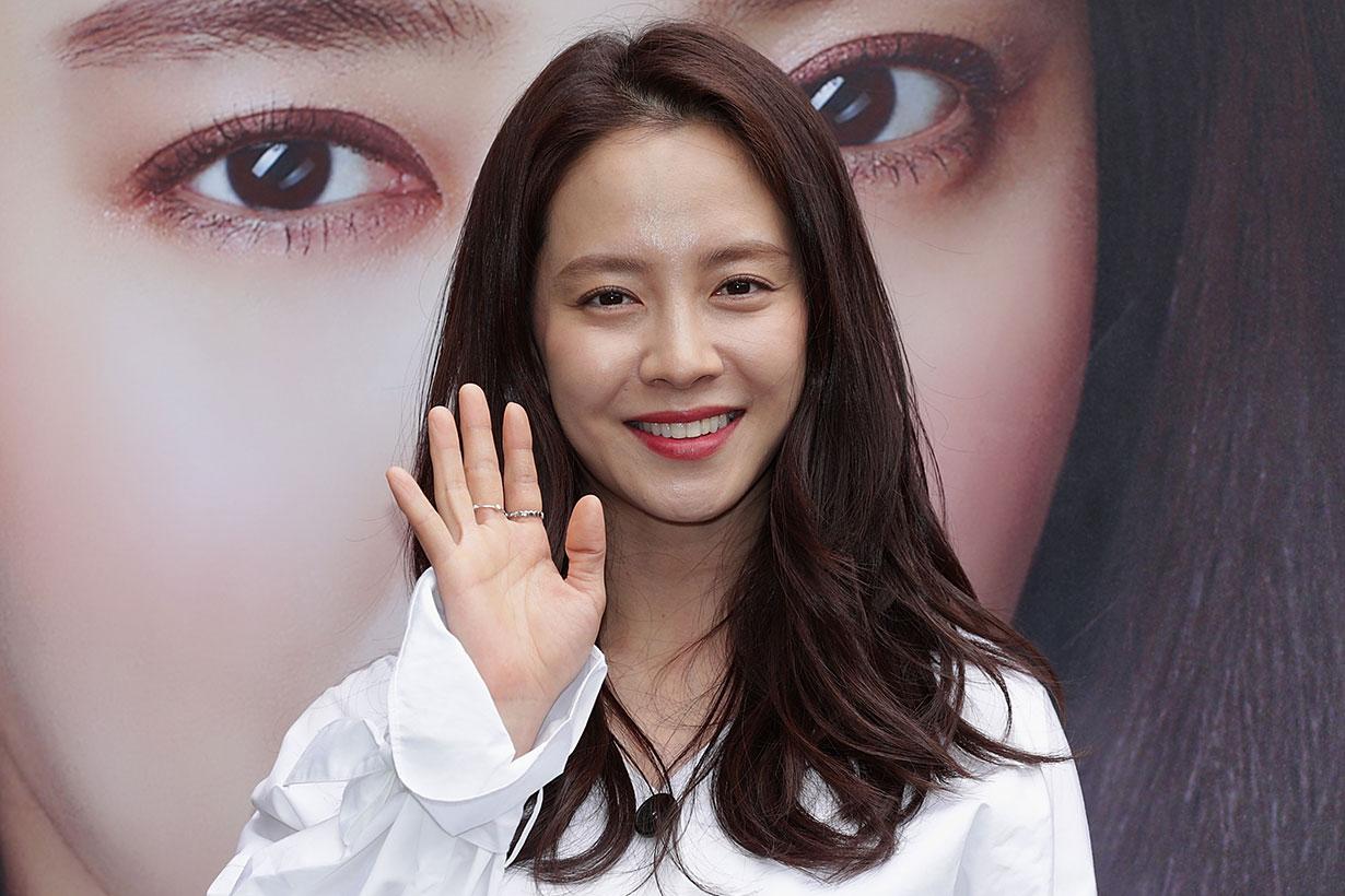 Song Ji Hyo short hairstyle 2019