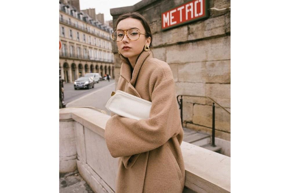 Beige Coat Street Style