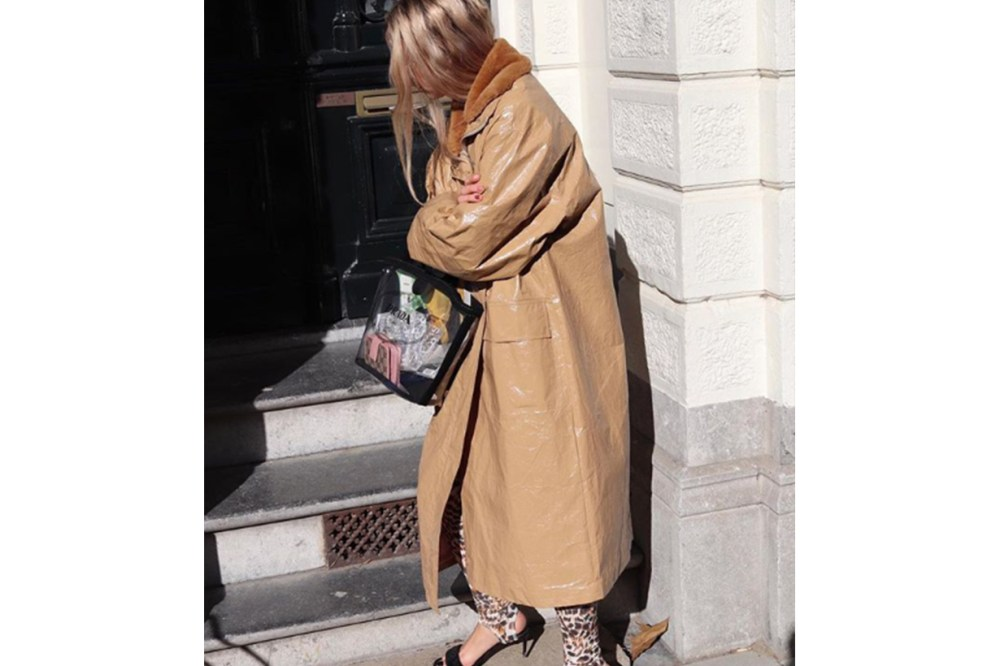 Trench Coat Raincoat Street Style