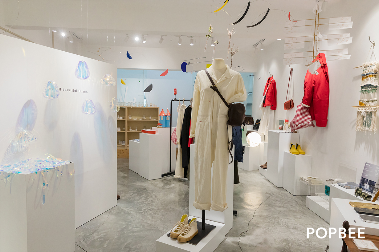 Storerooms selected shop and cafe in hong kong mong kok