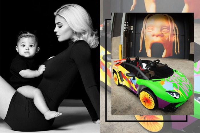 世上最得寵的孩子非 Stormi 莫屬,Kylie Jenner 女兒一歲已擁有自己的特製林寶堅尼!