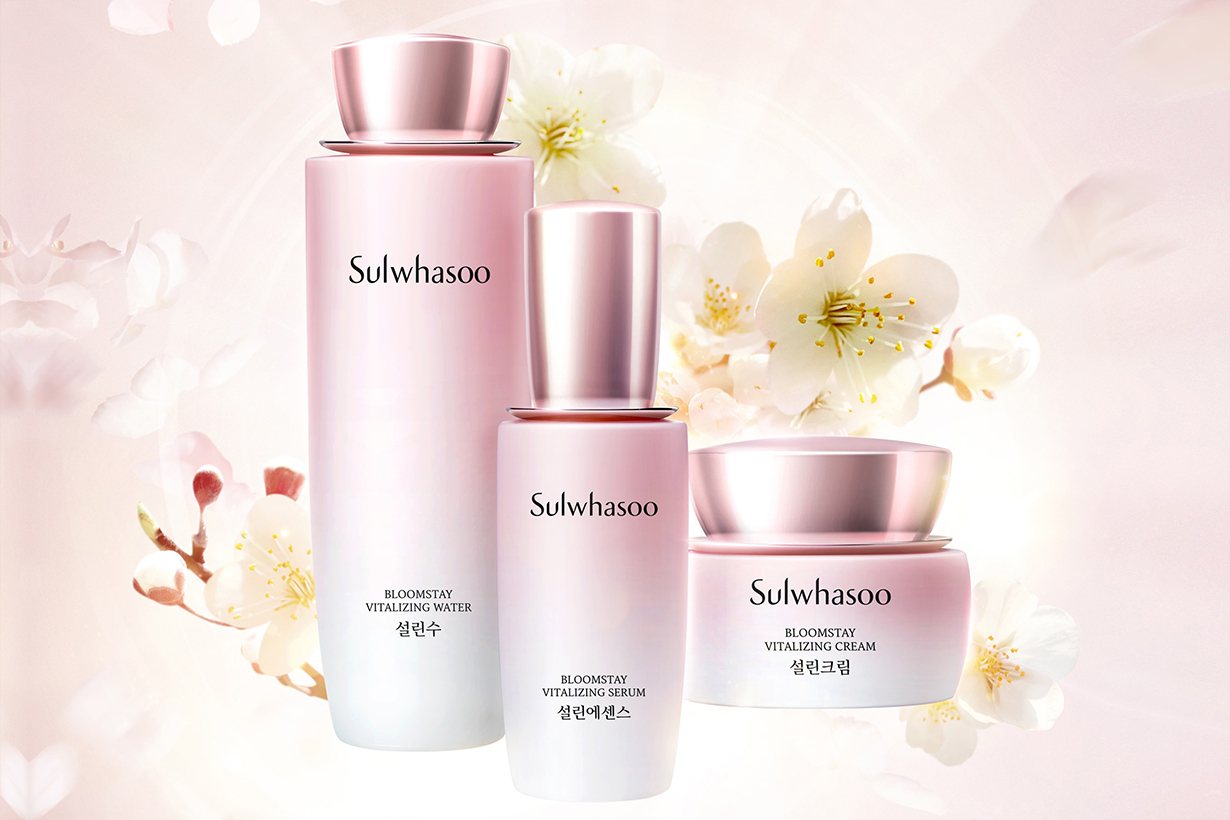 Sulwhasoo Bloomstay Vitalizing Skincare Collection