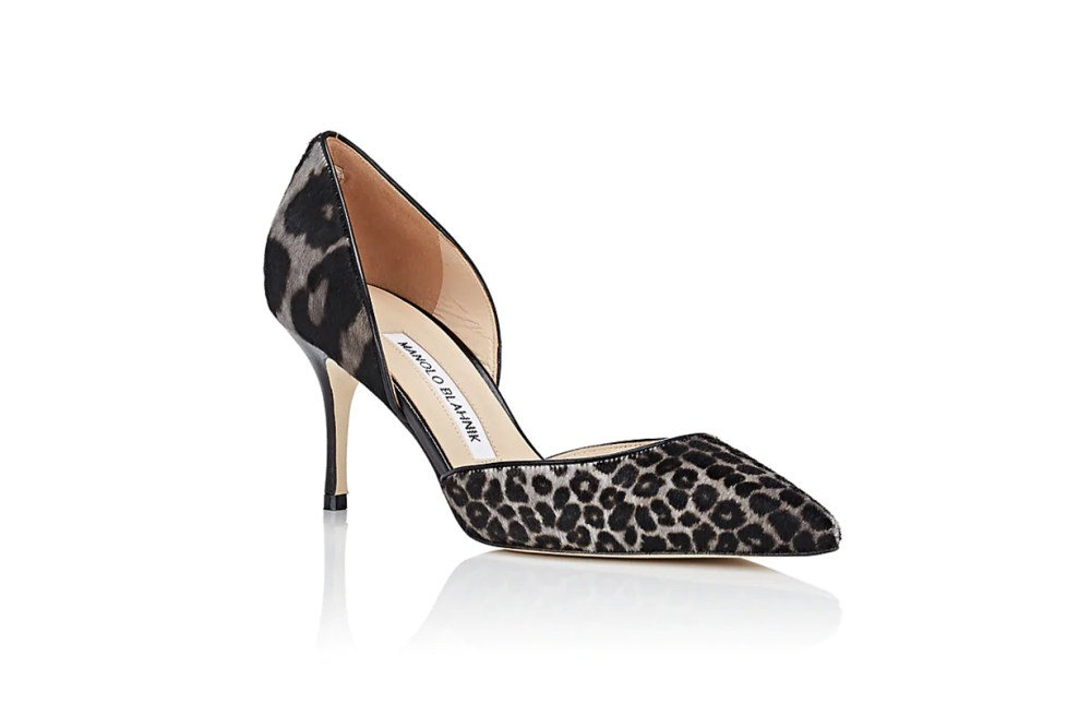 Taylerbibo Calf Hair D'Orsay Pumps