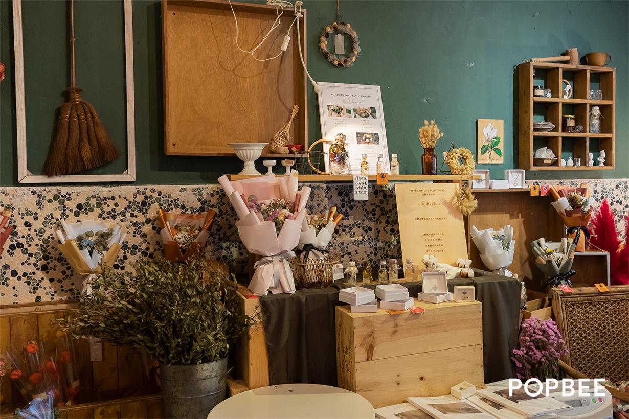 小房子 The Hut floral cafe in mong kok hong kong