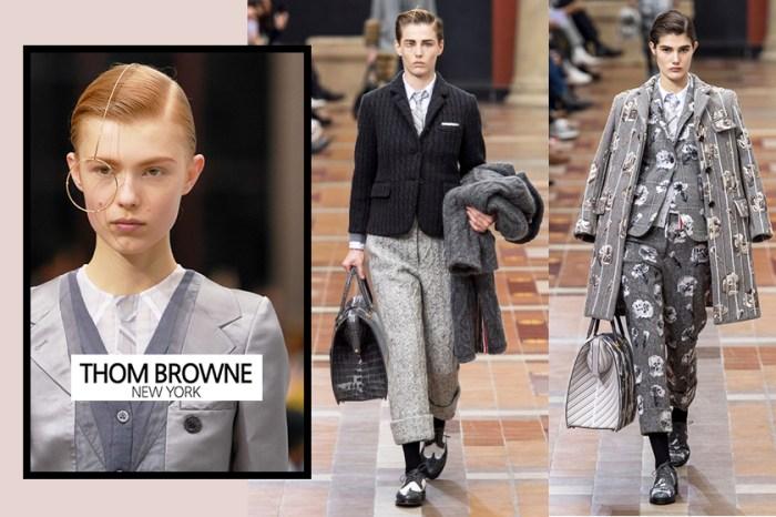 #PFW:經典西裝演變出玩味設計,Thom Browne 時尚又帥氣的系列登場!
