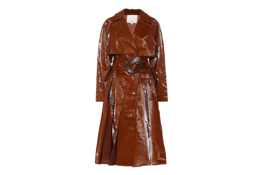 Tibi Technical Trench Coat