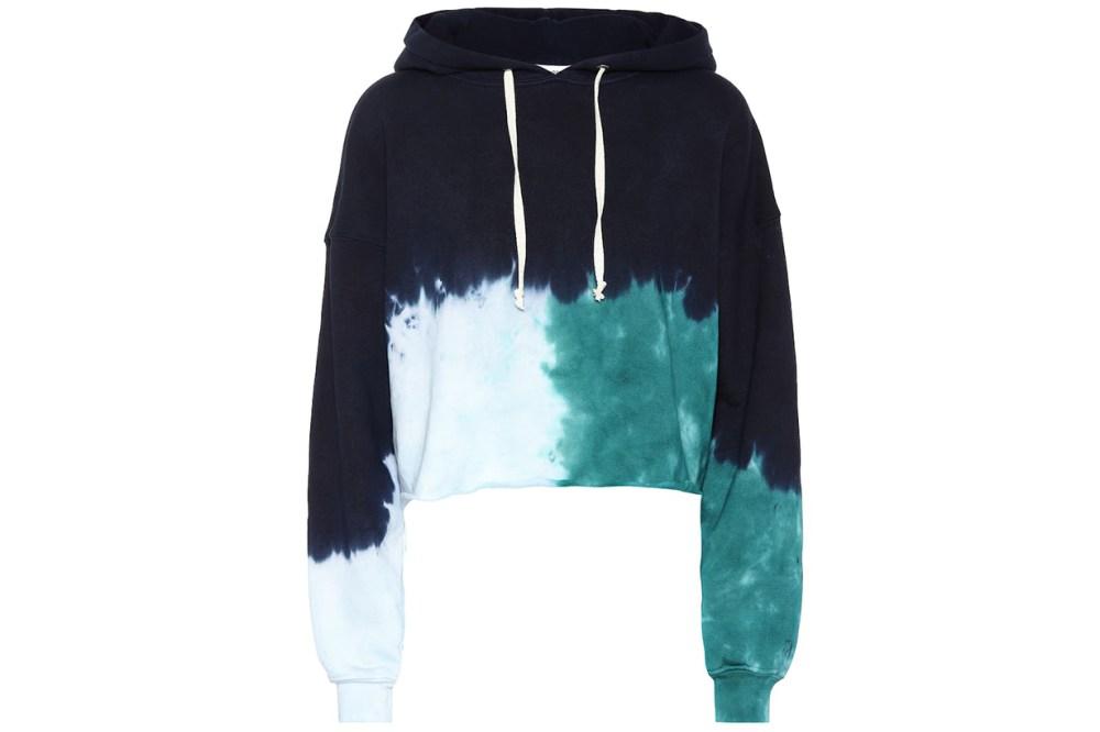 re/done tie dye hoodie