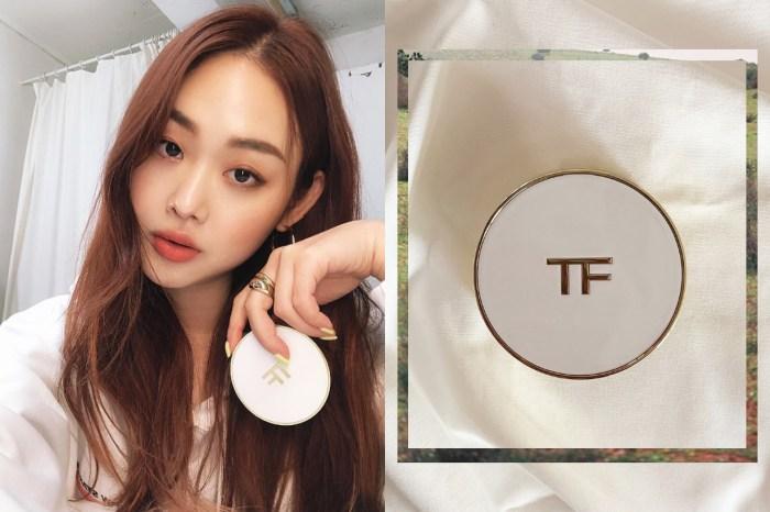 韓國女生每人手裏一個!Tom Ford 白色氣墊粉底可以讓你 3 秒打造透白「天使肌」!