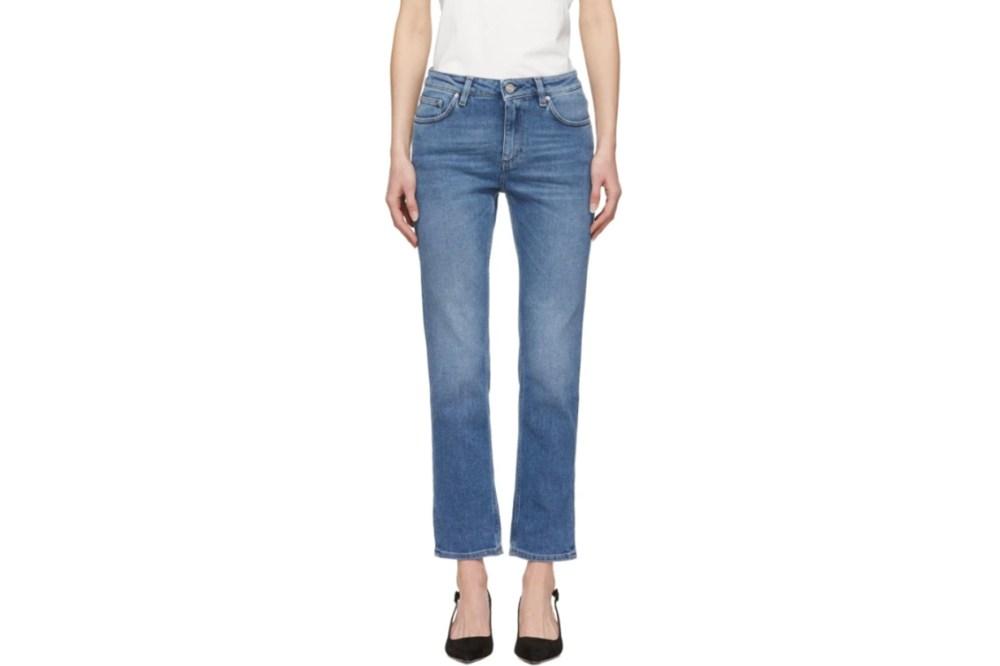 Totême Blue Straight Jeans
