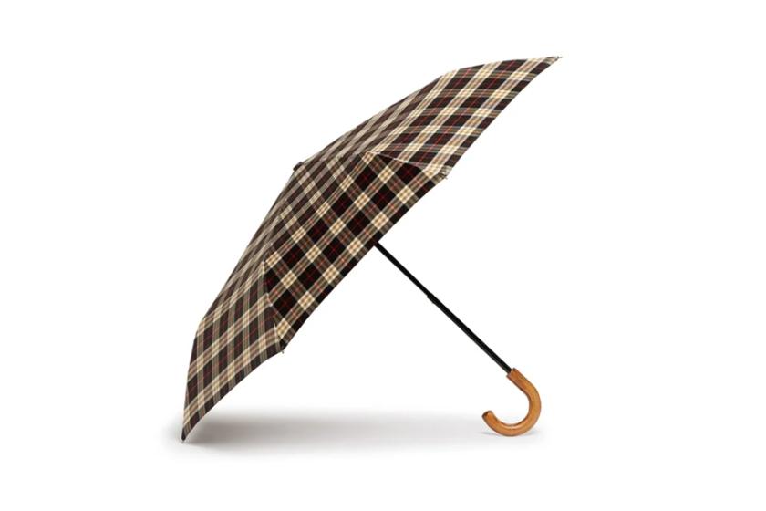 Burberry Trafalgar Check Umbrella