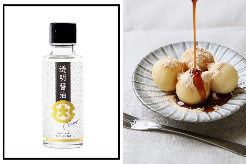 Transparent soy sauce japan FUNDODAI