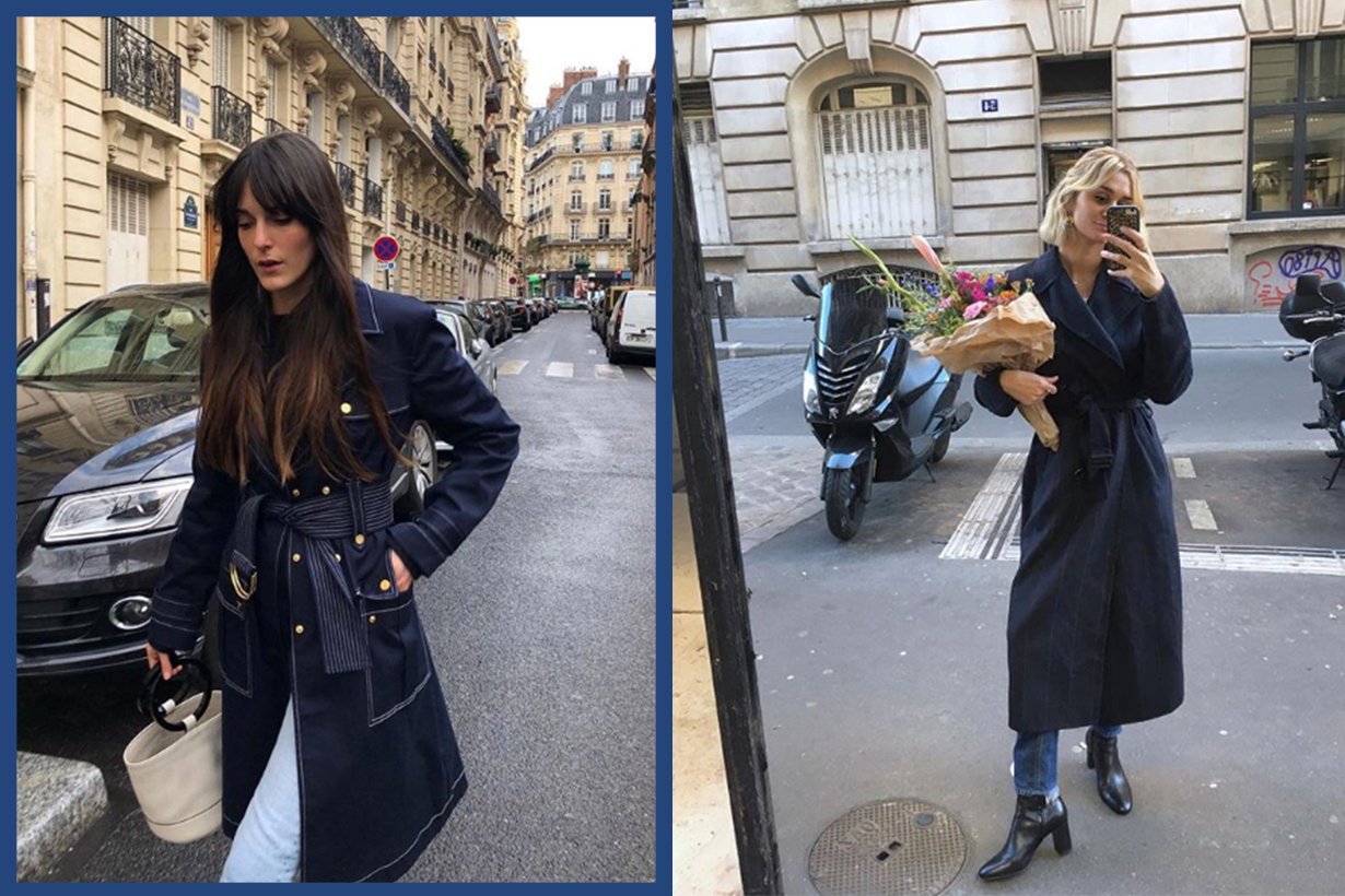 5 Ways to Wear Trench Coats in French Style