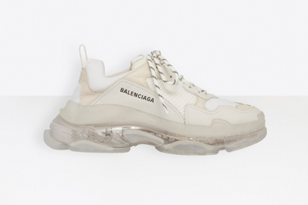 Balenciaga Triple S Clear Sole Trainers