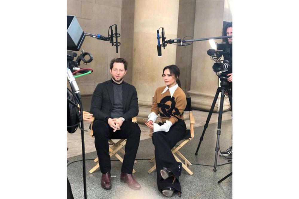 Victoria Beckham Interview YouTube Chanel